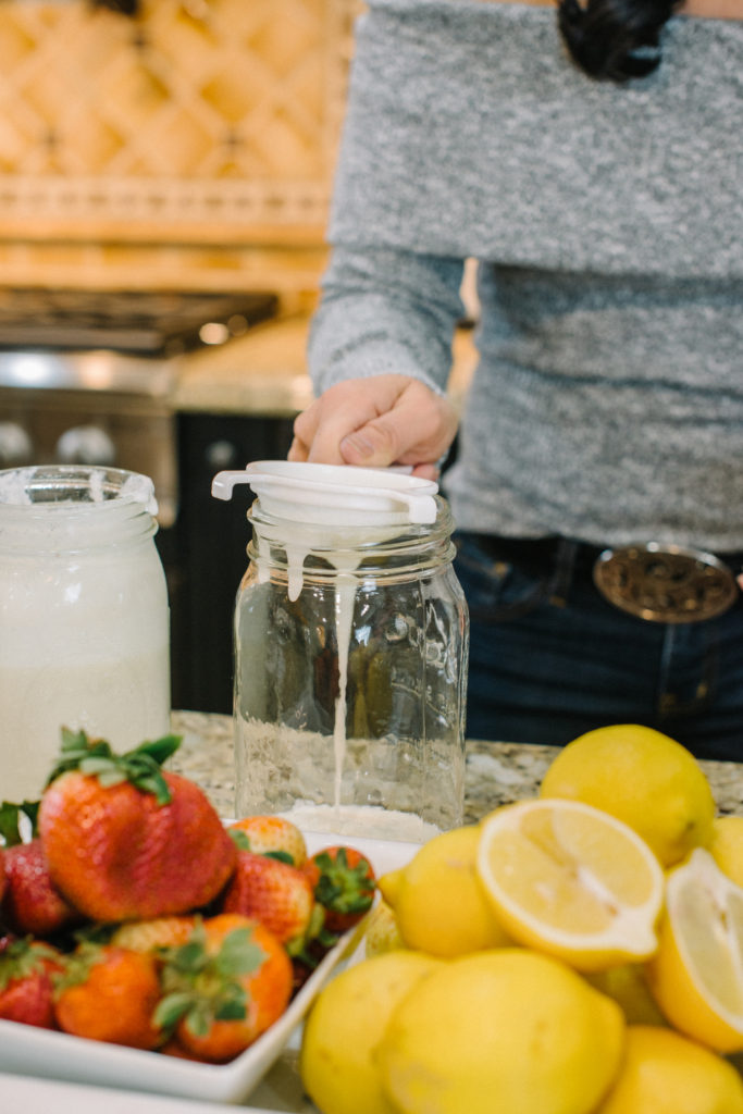 How to Make Kefir with Dr. Carolyn Griffin