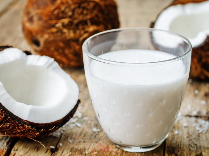coconut milk and coconuts with Dr. Carolyn Griffin