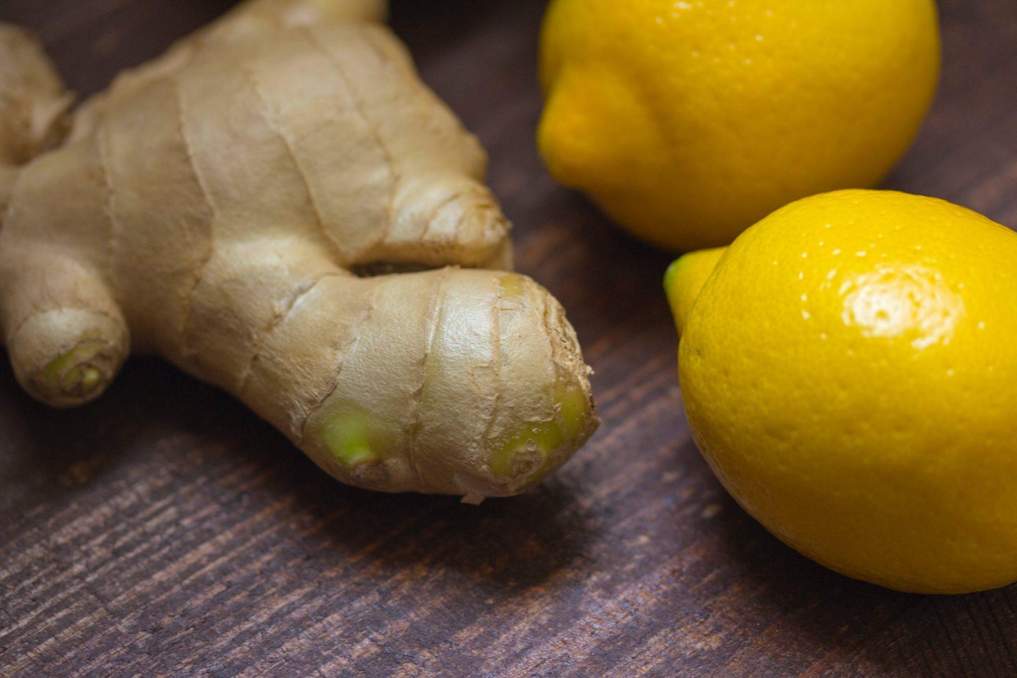 lemon ginger kombucha with Dr. Carolyn Griffin