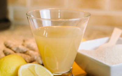 Lemon Ginger Kombucha with Dr. Carolyn Griffin